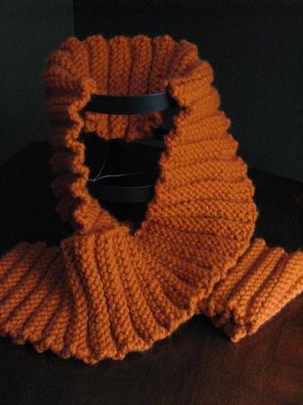 Knit Chunky Scarf - Free Pattern