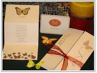 Tarjetas de Boda con Mariposas, parte 1