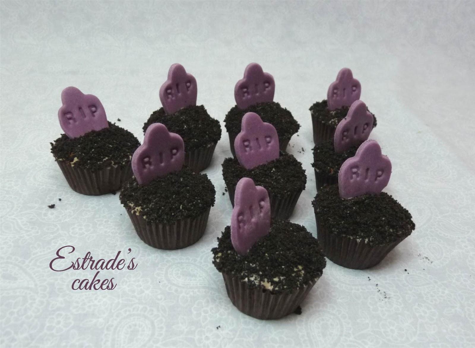 cupcakes de tumbas - 3