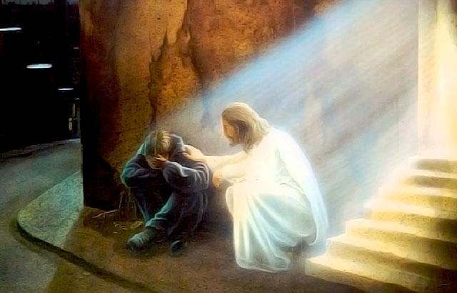 Receba o Consolo e Amparo de Deus