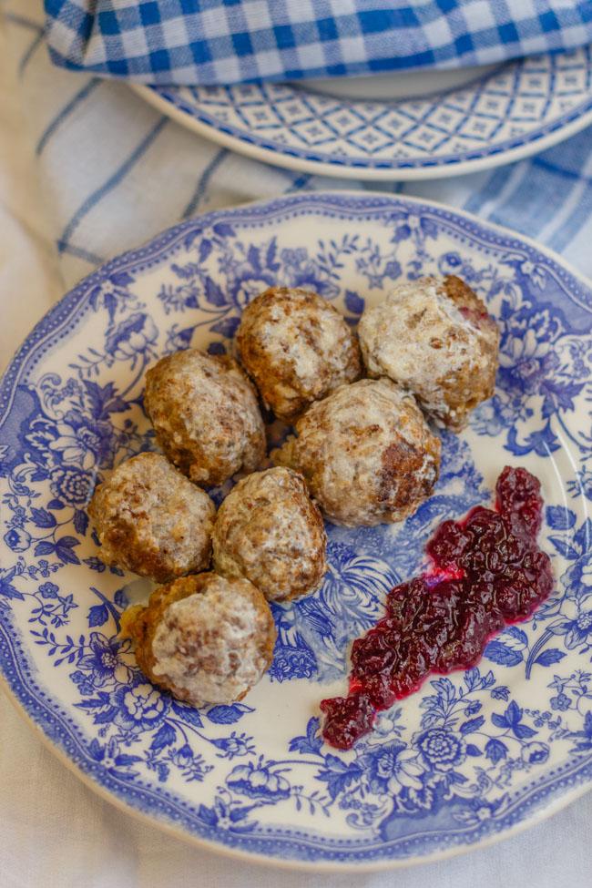Albóndigas suecas Kötbullar. http://www.maraengredos.com/