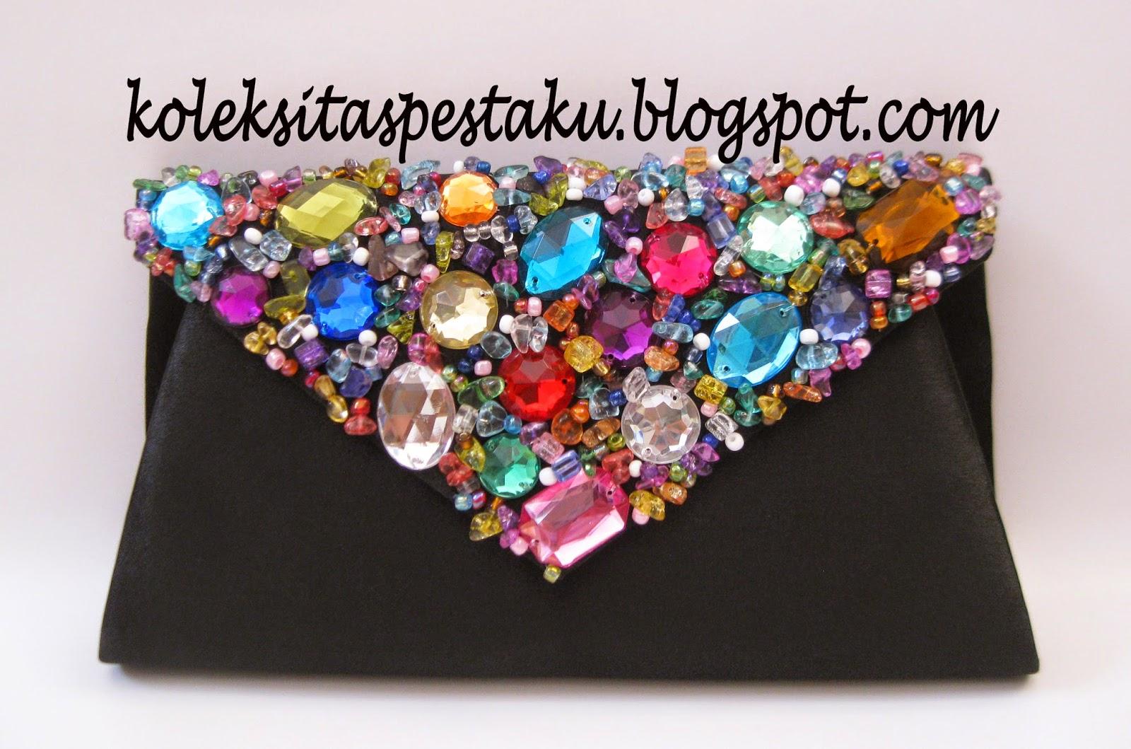 Ready Stock Terbaru dan Mewah Clutch Bag Cantik Mewah