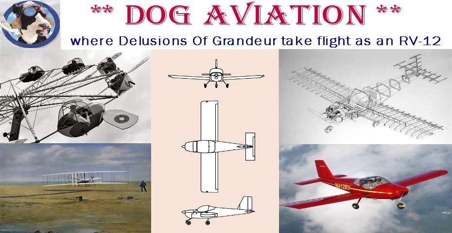 DOG Aviation  John's RV-12 Blog