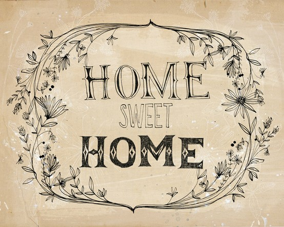 Thoughts By Rita Home Sweet Home