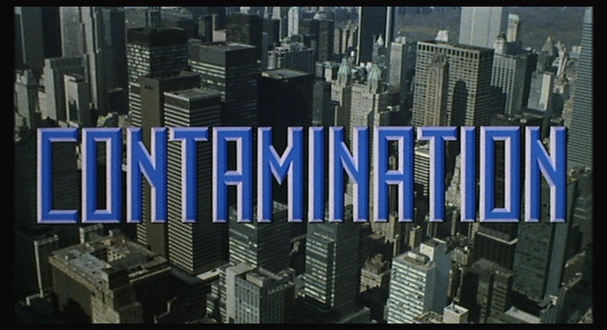 The Celluloid Highways Title Screen Database: Contamination (1980)