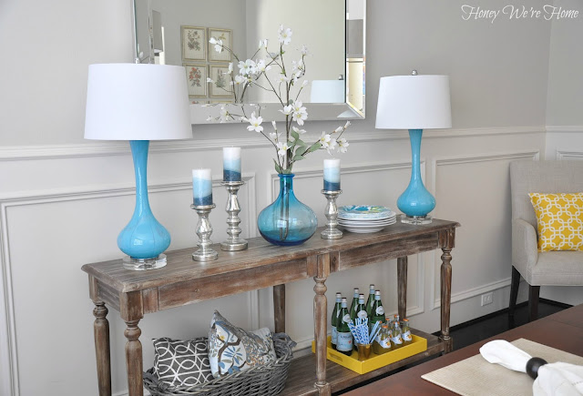 Foyer Dining Table : Honey we re home dining room decor updates world