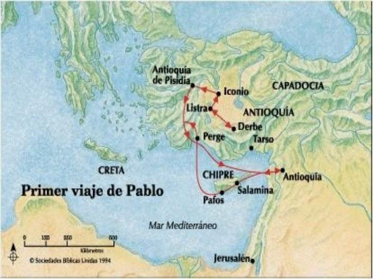 La religi n y t viajes de san pablo for Cuarto viaje de san pablo