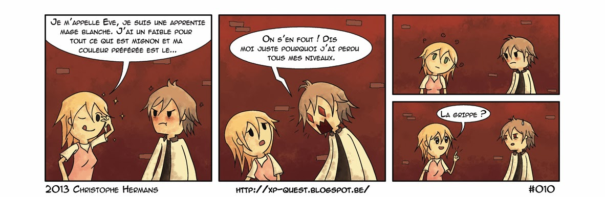 XP Quest  webcomic  strip  BD