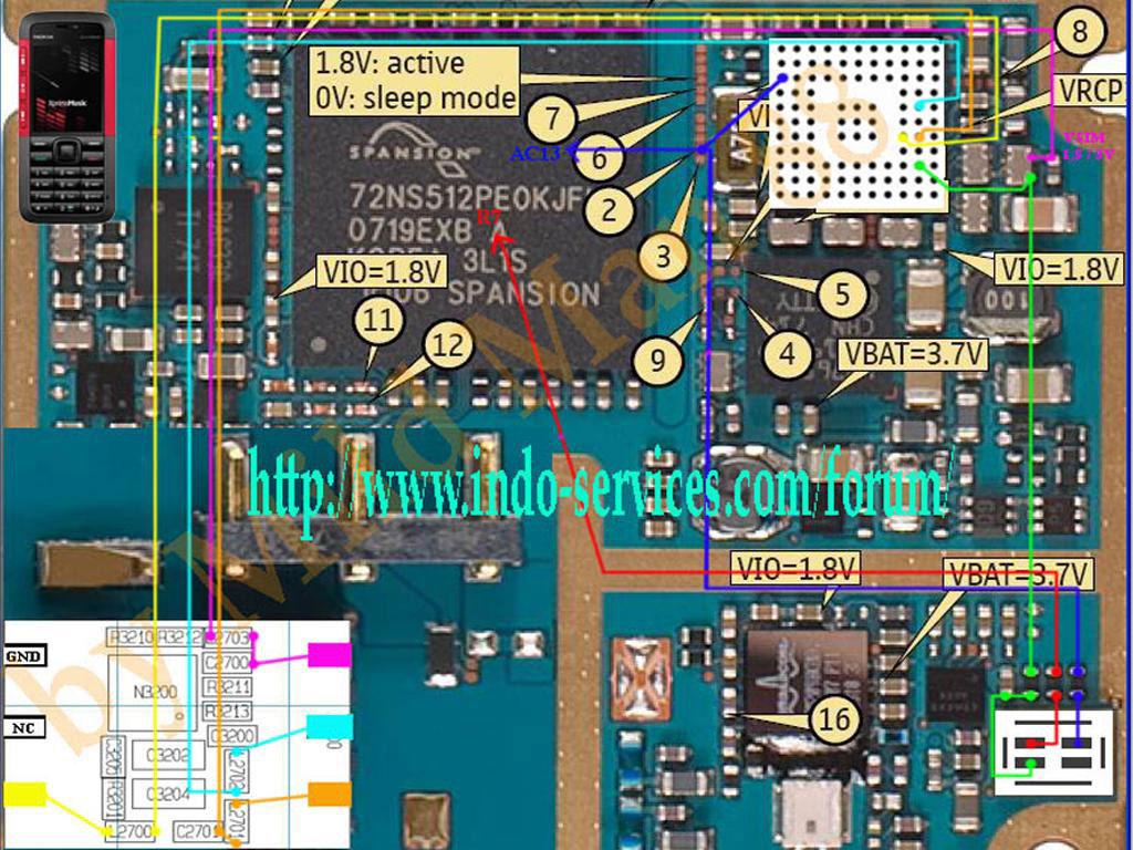 Mobiles  Nokia 5310xp Insert Sim Solution