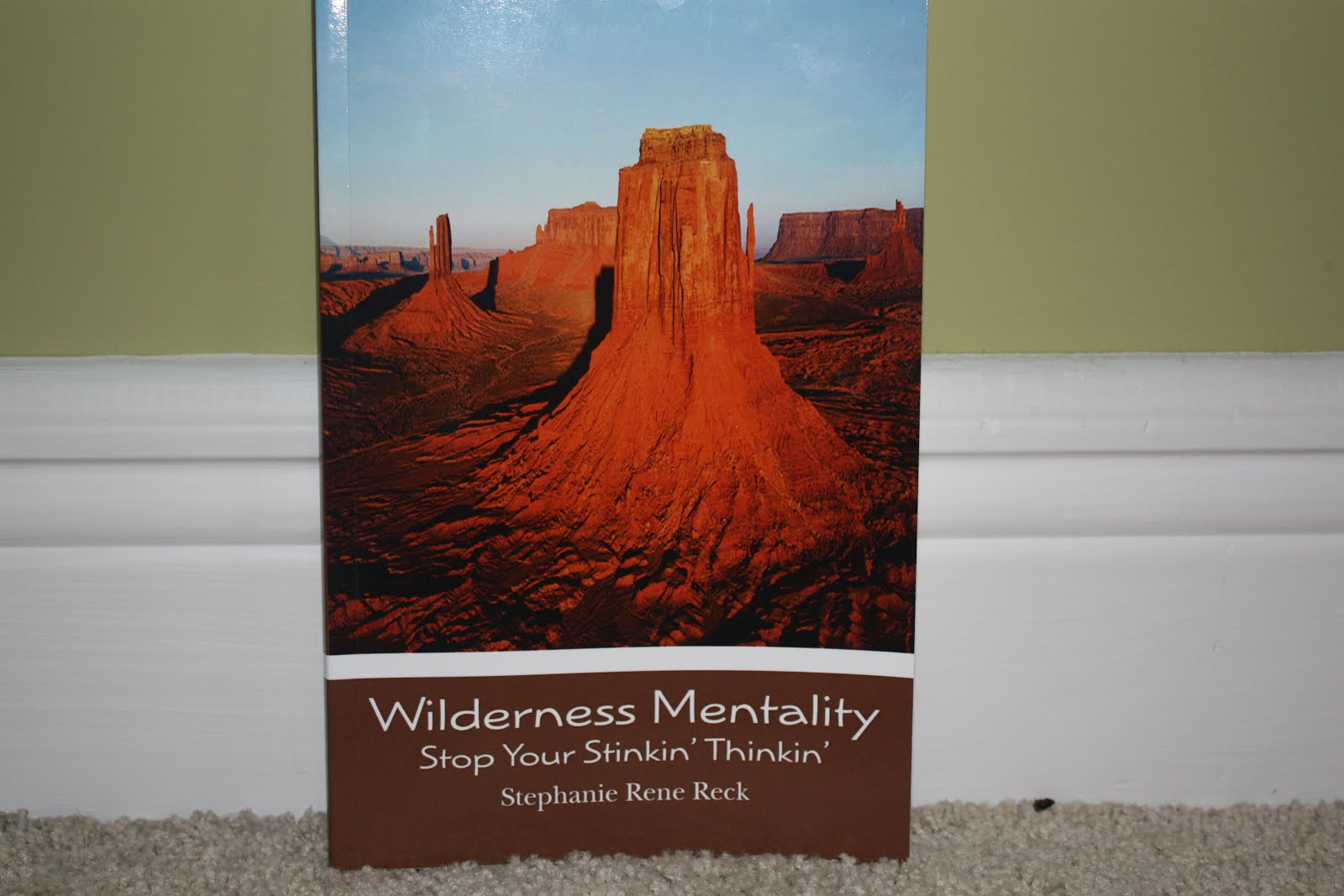 Wilderness Mentality Stop Your Stinkin' Thinkin' By: Stephanie Reck, LMSW, LBT, BCCC