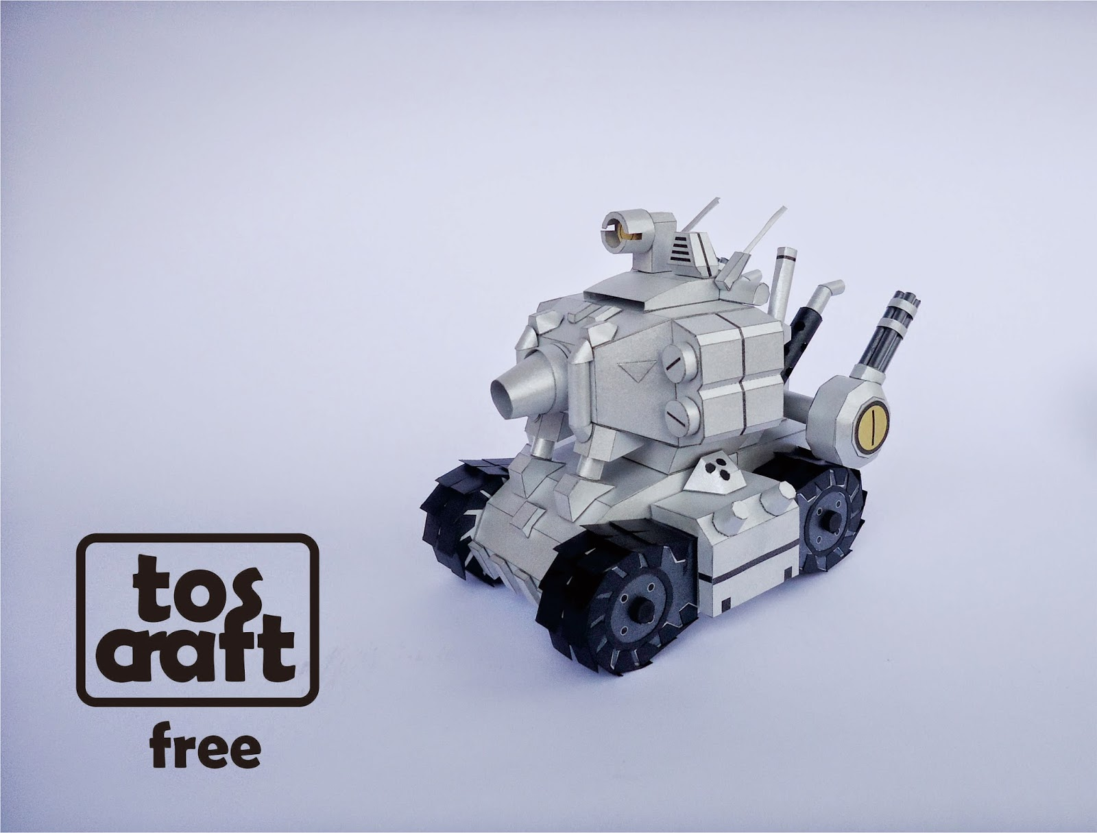 Metal Slug Papercraft Super Vehicle 001