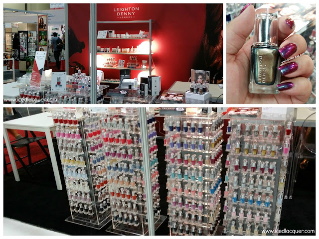 Leighton Denny Cosmoprof NA 2015 Booth