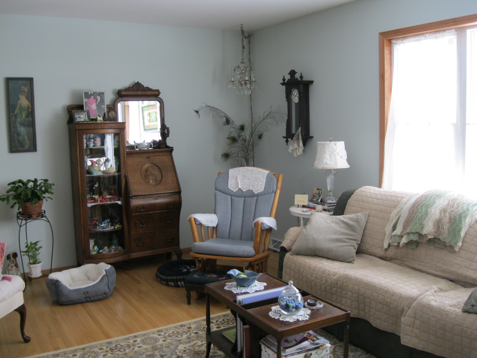 Garage Sale Gal Living Room Reveal