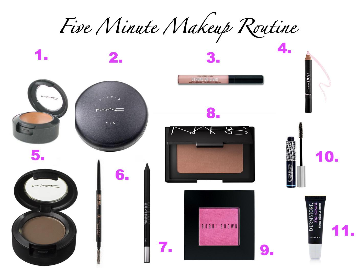 I Know It Looks Like A Lot Of Products, But I Promise It Takes Just Five  Minutes Of Time To Apply Them