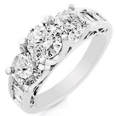 White Gold Diamond Ring Wedding Rings Engagement Rings