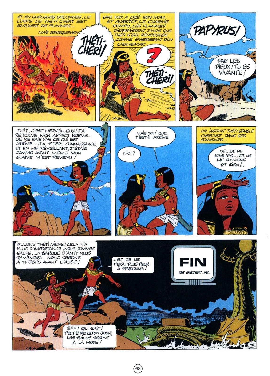 Le Colosse sans visage, tome 3 de la série de bande