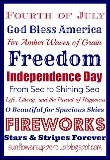 Independence day recipe round up