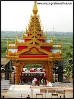 Entrance Global Vipassana Pagoda Gorai Borivali Mumbai Maharashtra