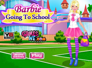barbie merge la scoala