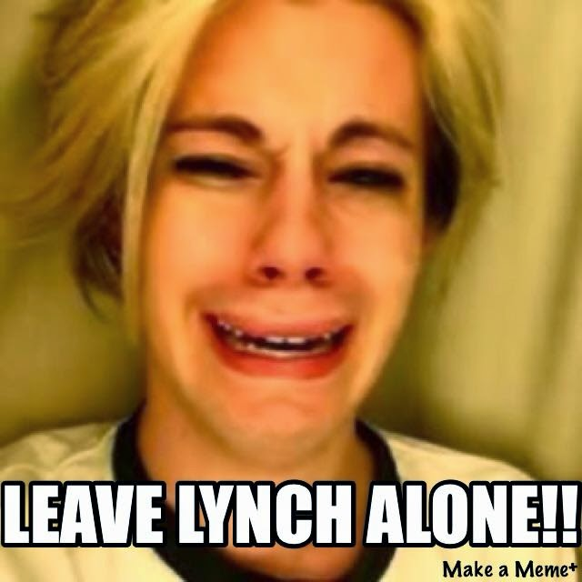 Leave Lynch alone!!!