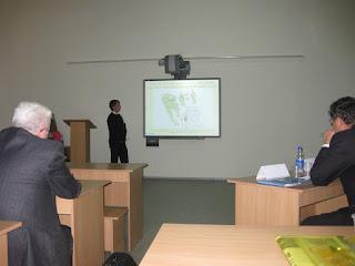 Використання геоінформаційних систем та дистанційного зондування землі. Фото №2 з конференції.