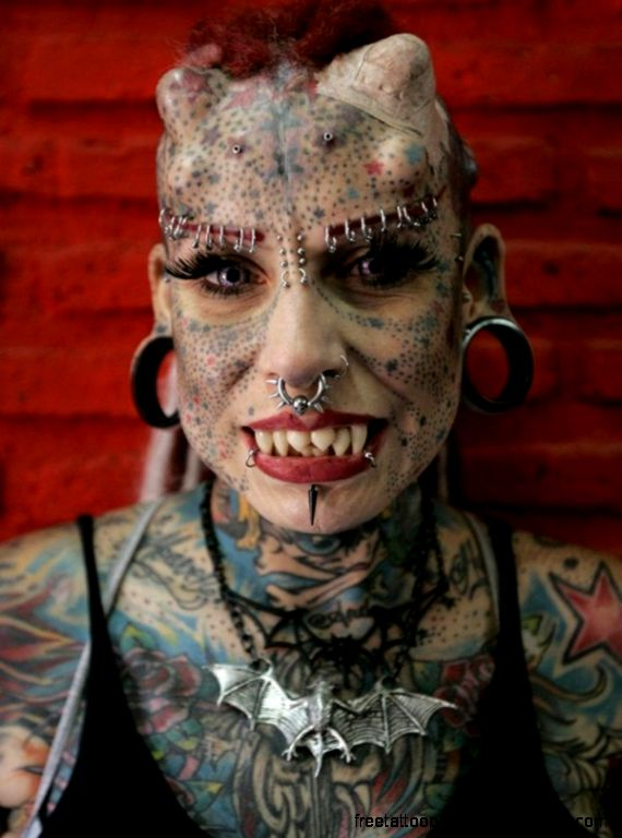 35 Examples of Weird Tattoos and Piercing