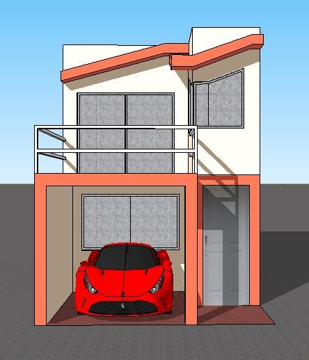 Fachadas y casas casas con fachadas de 4 metros for Fachada casa clasica
