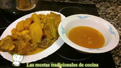 cocido tradicional o puchero