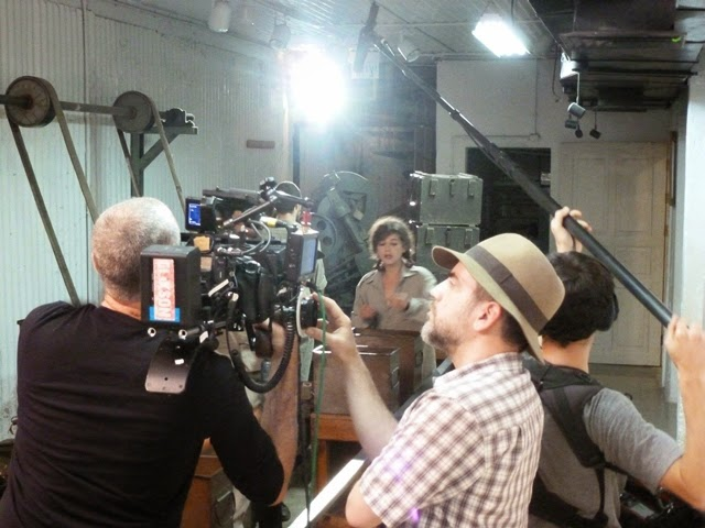 Filming The Secret Beneath the Hill