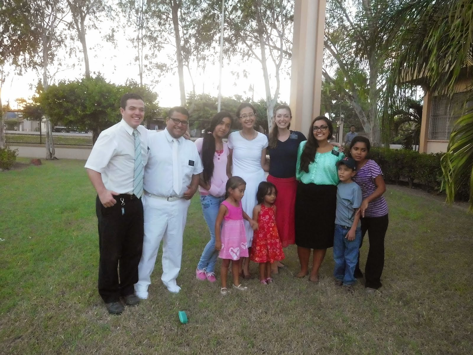A baptism from the Hermana's area--12/14