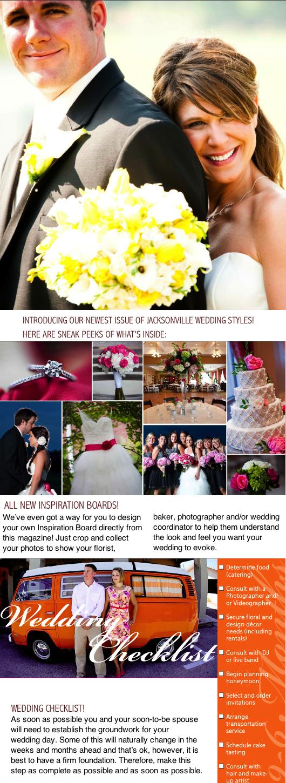 a wedding checklist multiple local weddings advice on all Jacksonville