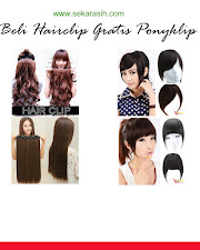GROSIR HAIRCLIP IMPORT MURAH RAISMASTORE