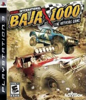 SCORE International Baja 1000 - PS3