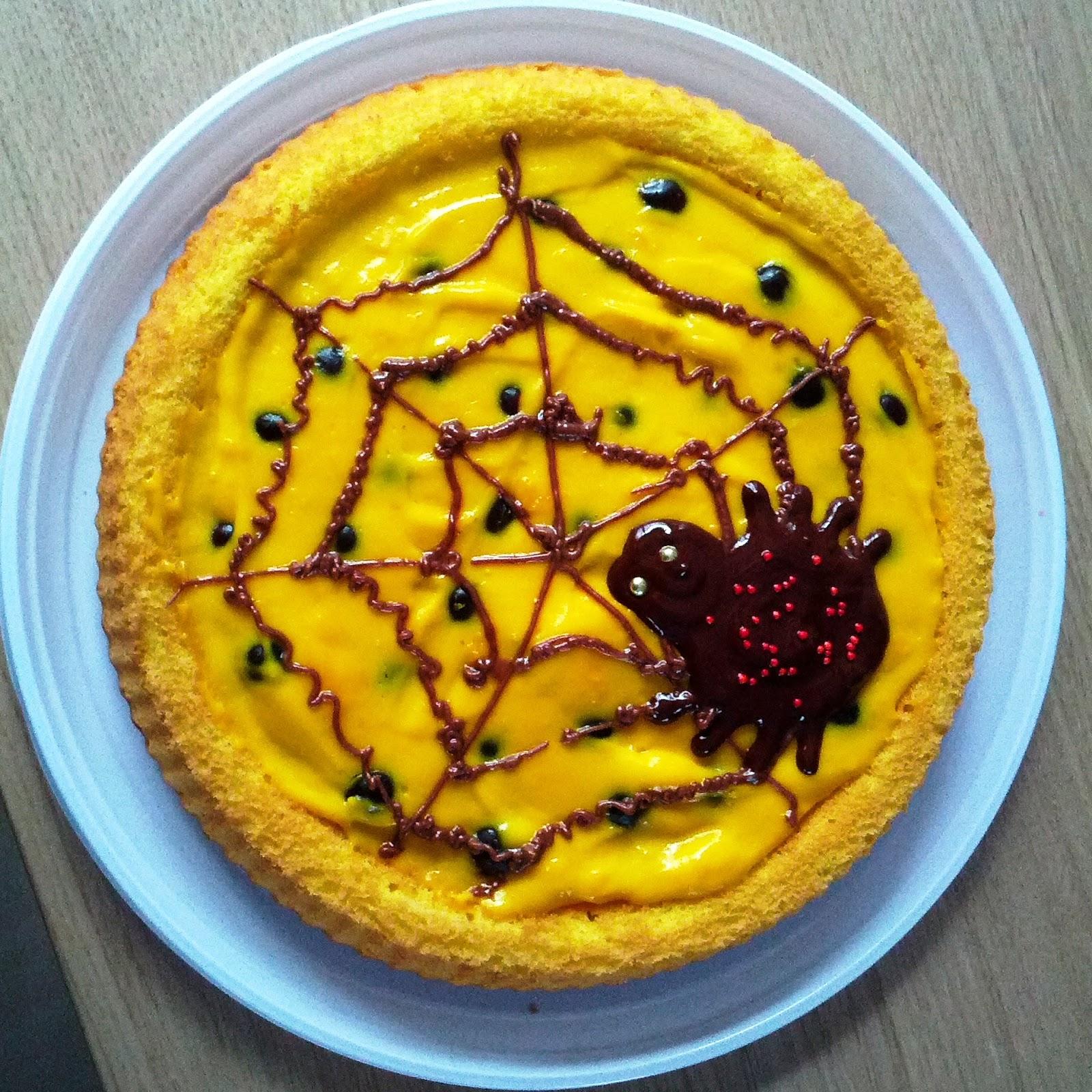 La cucina di Polina: [Halloween] Torta ragno