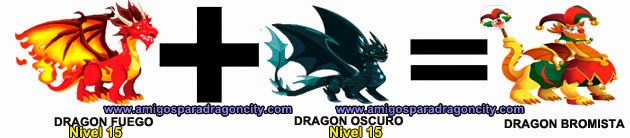 como hacer el dragon bromista de dragon city formula 2