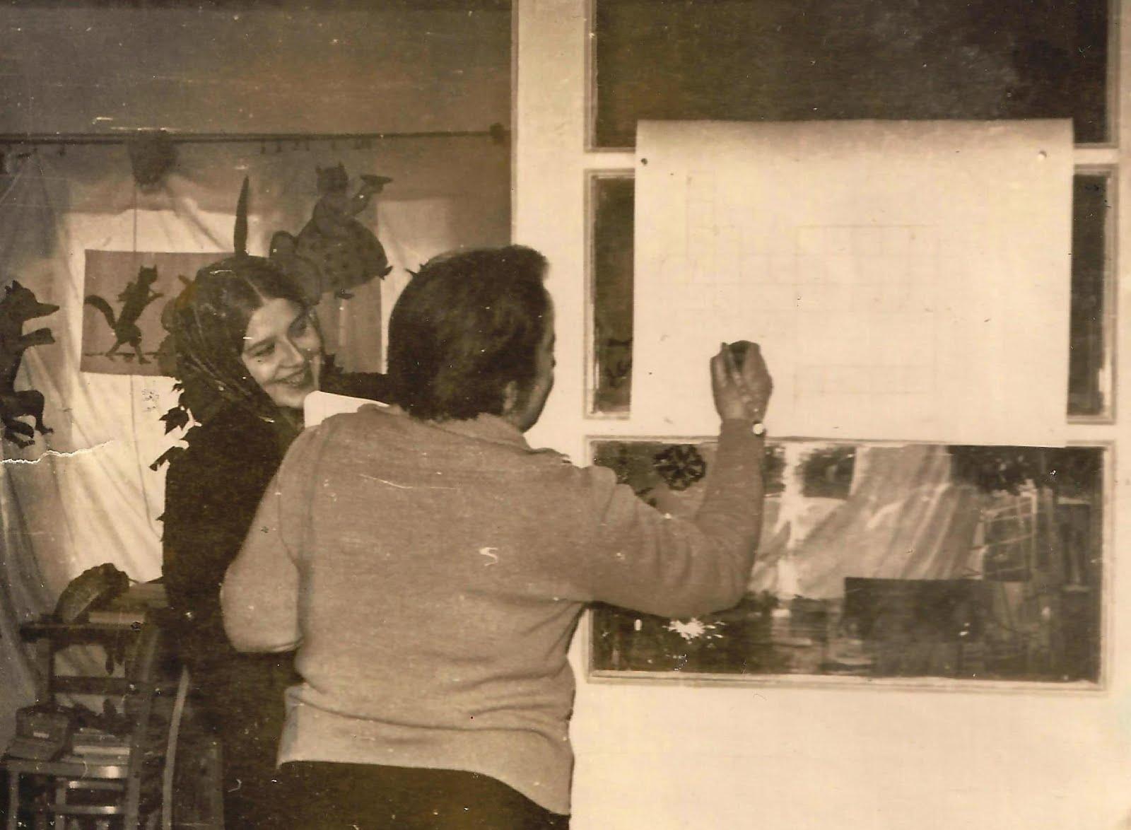 Pasaku pēcpusdiena bibliotēkas aktīvistiem. 1970-tie gadi