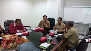 Eko Agus Supiandi saat rapat bersama anggota komisi VI DPR RI