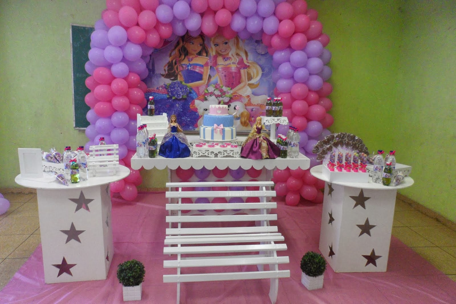 Barbie Castelo Diamante.