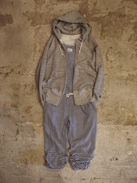 FWK by Engineered Garments Romper in Navy/White Cotton Stripe Jersey Spring/Summer 2014 SUNRISE MARKET