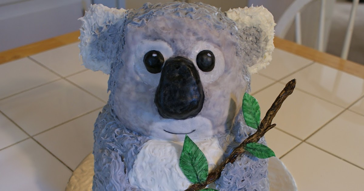 Cakes By Meg Koala Bear Cake