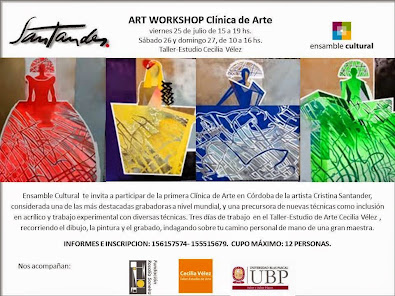 Art Workshop de Cristina Santander