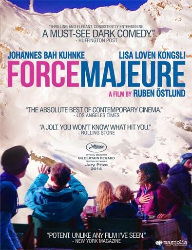 Ver Force Majeure: La traición del instinto (2014) Online