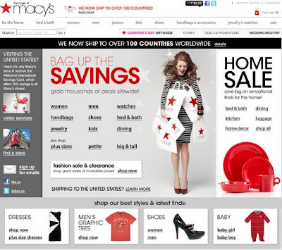 Macys.com Coupons and Deals