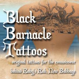Black Barnacle Tatoos