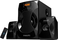 Philips IN MMS4040F/94 Laptop Speaker with 2.1 Channel at Rs. 1791 after cashback only at Paytm :byuytoearn