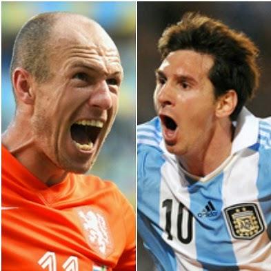 Olanda vs. Argentina cupa mondiala 2014