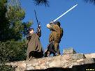 Lluites entre soldats. Autor: Carlos Albacete