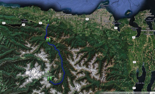 elwha trail map