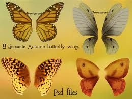 Unas alas de mariposa integradas en un papel tiene unos resultados espectaculares, pero dejalo para más adelante