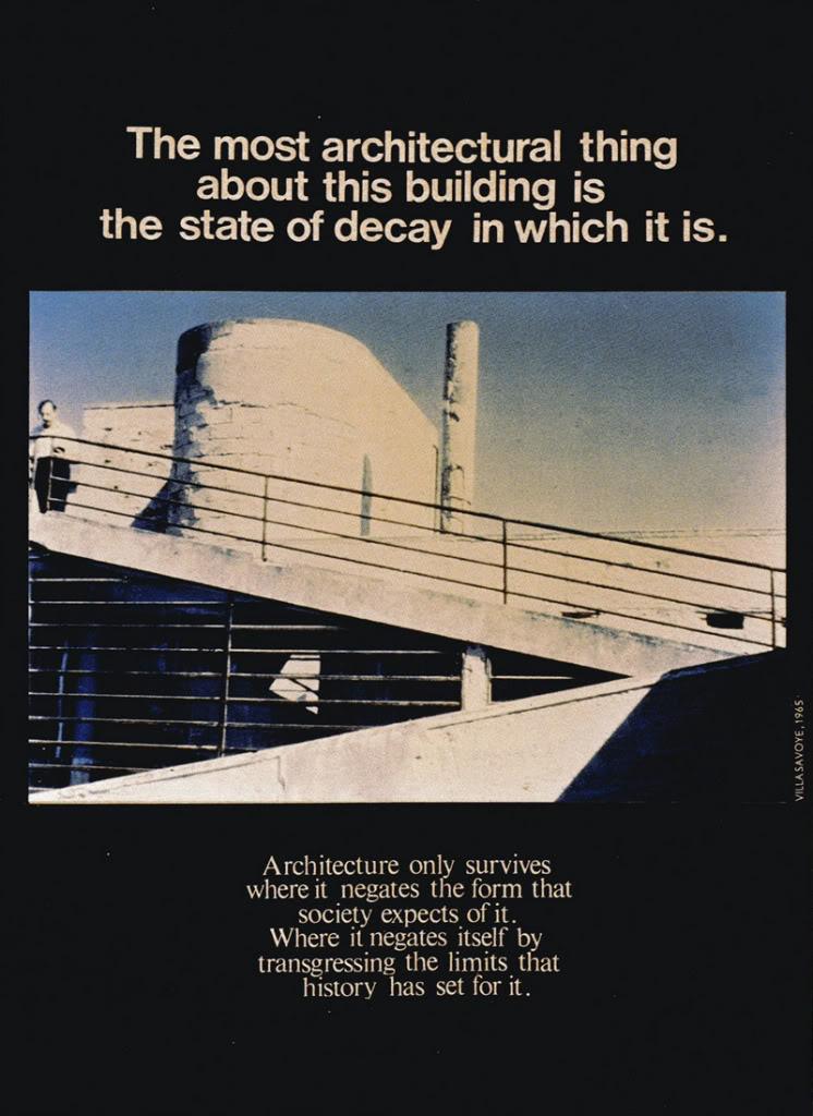 Xavier Delory Imagines Corbusier 39 S Villa Savoye In A State